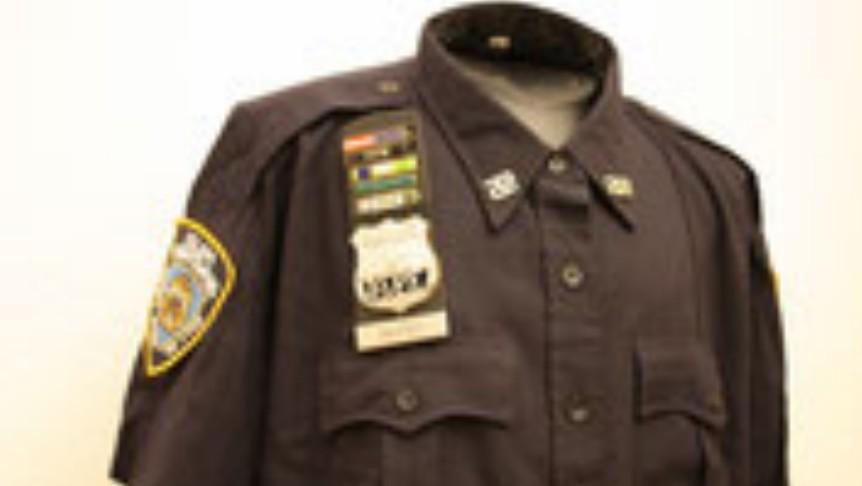 NYPD Uniformhemd kurzarm