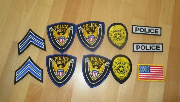 Ärmelabzeichen US Polizei