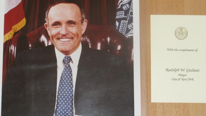 Autogramm Giuliani