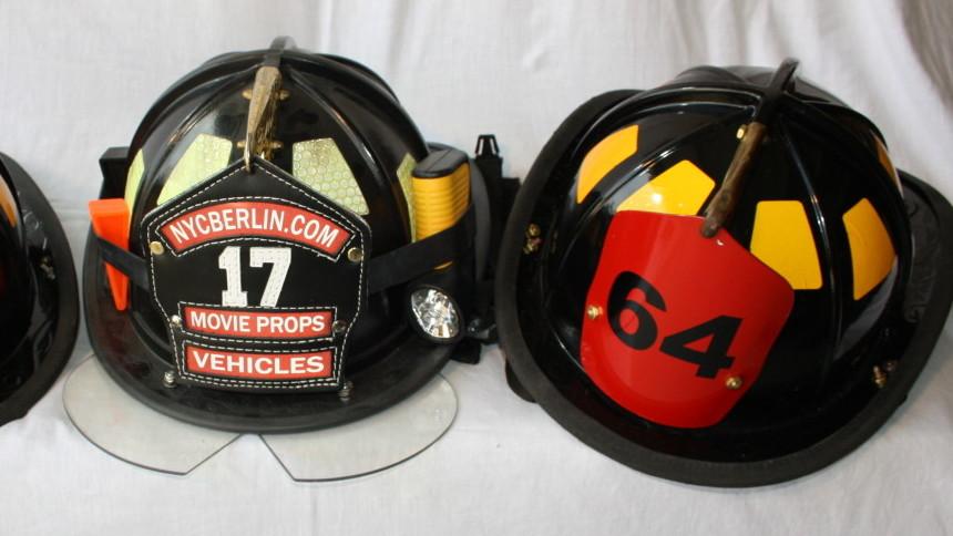 US Feuerwehrhelme